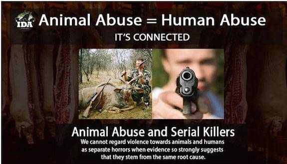 animal cruelty and human violence Article traces the historical link between human and animal welfare, describes the forms of human psychopathology associated with human cruelty to animals, points out the symbiotic relationship between agencies that address family violence, and describes the resistance to cross-reporting among these agencies.