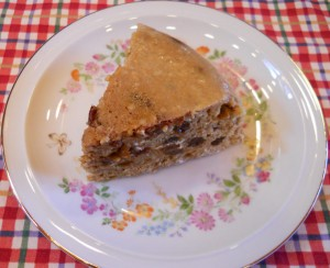 Banana Orange Raisin Cake