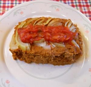 Lentil Loaf, Southwest Style