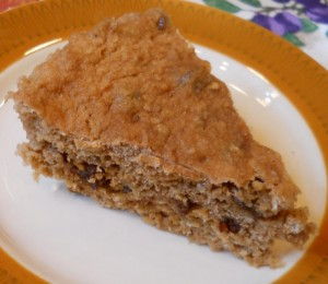 Apple Cinnamon Raisin Cake