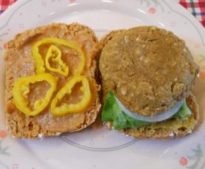 Chick Pea Burger