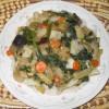 Eggplant Spinach Stir-Fry