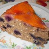 Apricot Blueberry Upside-Down Cake