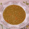 Green Split Pea Curry Soup