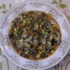 Cabbage Spinach Soup