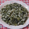 Collard Greens Kale Rice