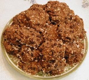 Cookies Banana Oatmeal Raisin Sunflower Seed Spice