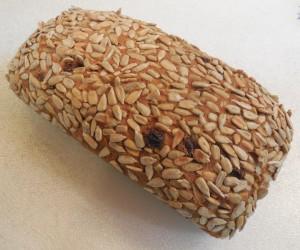 Spelt Barley Cinnamon Raisin Bread