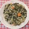 Swiss Chard, Kale and Brown Rice (Greek Style)