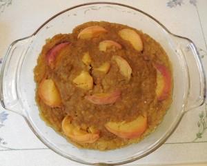Peach Zucchini Carrot Banana Cake