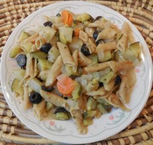 Penne Potato Zucchini Salad