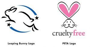 Vegan Living-Cruelty free logos