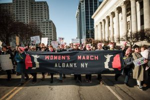 Women's March in Albany, NY