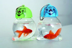 live animals key chains