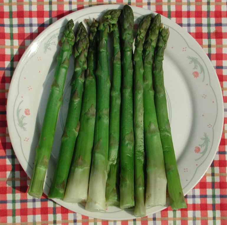 quels sont les bienfaits des asperges pour la santé?