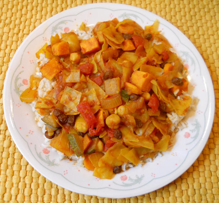 recipe: curried cabbage and potatoes [7]
