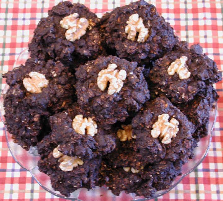 Cookies - Banana Carob Coconut Raisin Oatmeal with Walnuts Photo: All ...