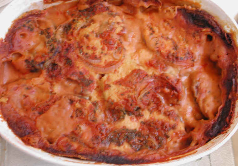 Eggplant casserole an all creatures american international eggplant casserole an all creatures american international vegetarian vegan recipe cruelty free gourmet recipes lifestyle food appetizer forumfinder Images