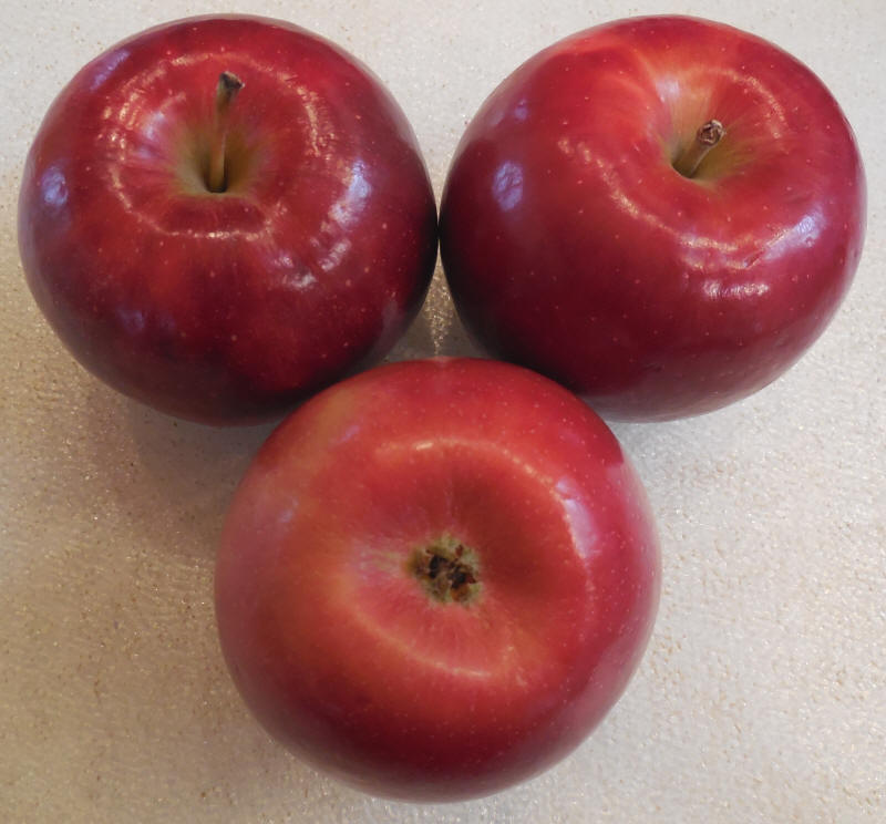 Apples, Ruby Frost - Ingredients Descriptions and Photos