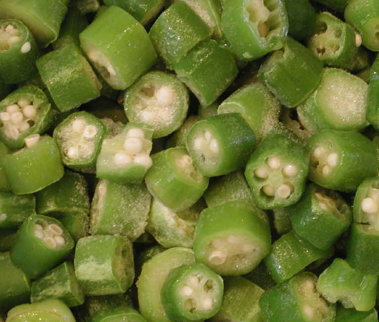 how to cook whole frozen okra