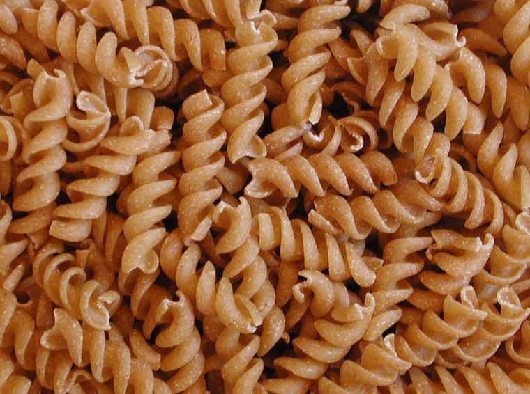 Whole wheat pastas