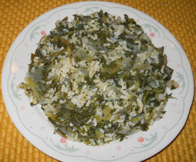Russian kale onions and rice greek style photo an all russian kale onions and rice greek style forumfinder Image collections