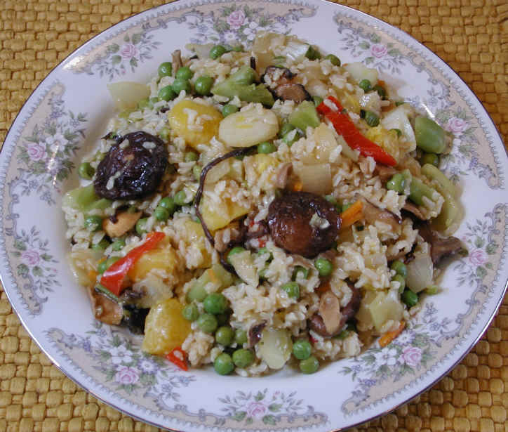 Rice with vegetables mushrooms and orange an all creatures rice with vegetables mushrooms and orange an all creatures american international vegetarian vegan recipe cruelty free gourmet recipes lifestyle forumfinder Image collections