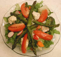 Asparagus Vegetable Salad
