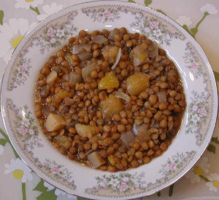 Apricot Lentil Soup Recipe — Dishmaps