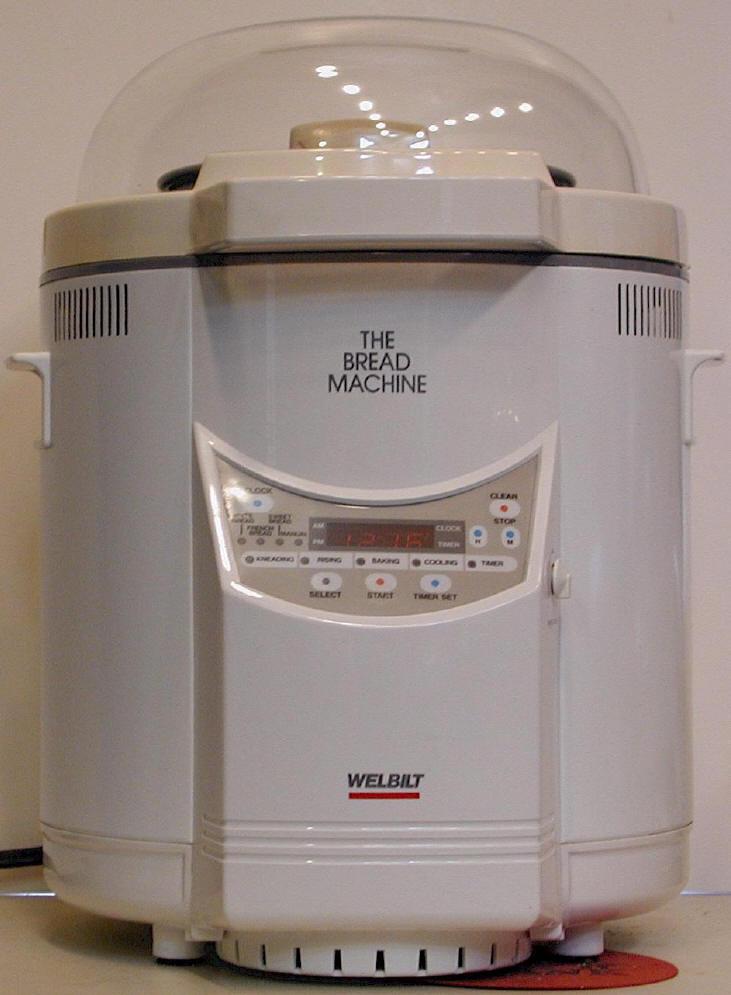 the bread machine