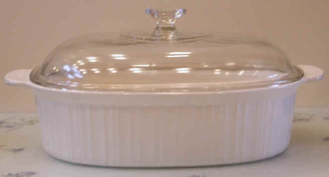 Covered Ceramic Baking Dish Food Preparation Utensils And