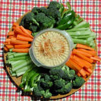 Vegetable Platter and Dip
