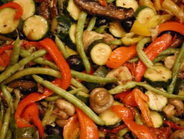 Roasted Vegetable Medley with Artichoke Hearts and